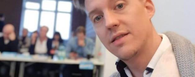 Schnell noch ein Selfie vor meinem Auftritt bei Thomas Klussmann's Kickstart-Coaching